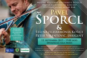 Pavel Šporcl a Štátna filharmónia Košice: 12. septembra 2019, Revúca
